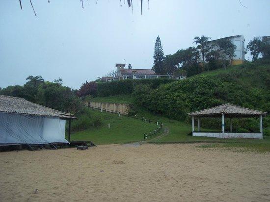 Apa Pau Brasil Hotel : vista del hotel desde la playa