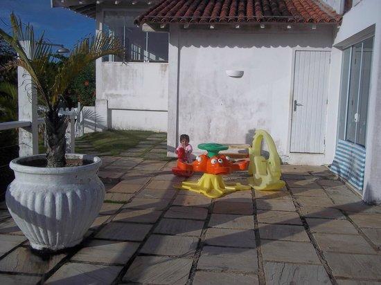 Apa Pau Brasil Hotel : los juegos para niños