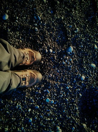 Black Sand Beach: Piedras negras