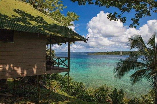 Iririki Island Resort & Spa: AIsland Fare Exterior