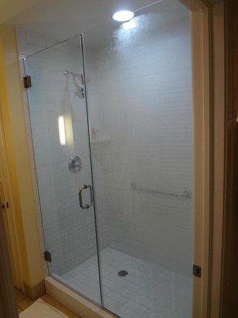 Pink Shell Beach Resort & Marina: nice walk in shower