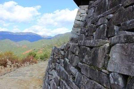 Haga Castle Historical Park: 石垣