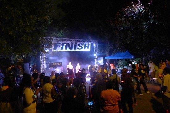 Parc Piedmont : the big finish