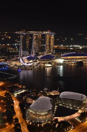 Swissotel The Stamford Singapore : view from our suite