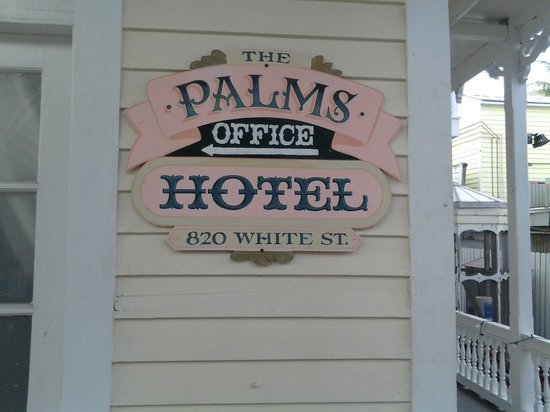 The Palms Hotel- Key West: The Palms Hotel Marker