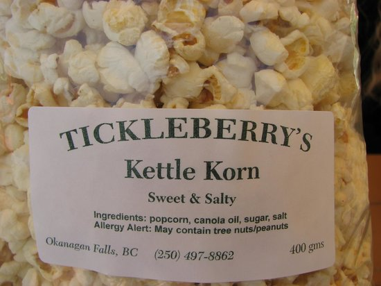 Tickleberry's: The Real Deal.