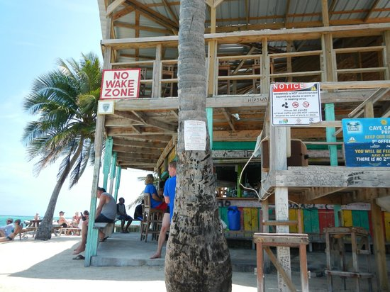 Caye Caulker: The Split