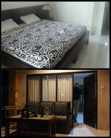 Gerhana Sari 2 Hotel: our room & terrace