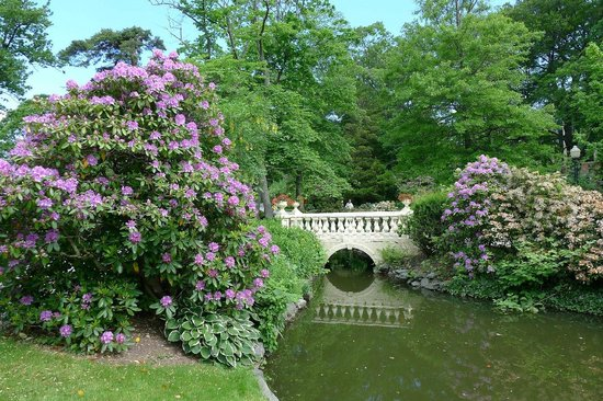 pretty bridge Picture of Halifax Public Gardens Halifax