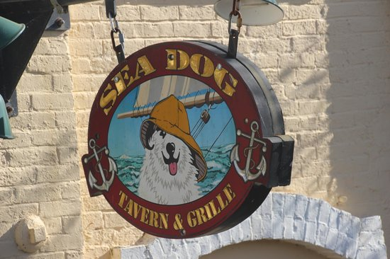 Sea Dog Brewery - Sign