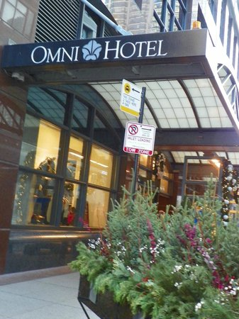 Omni Chicago Hotel: Fabulous location!
