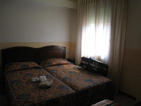 Hotel Milano & Spa : ベッドルーム