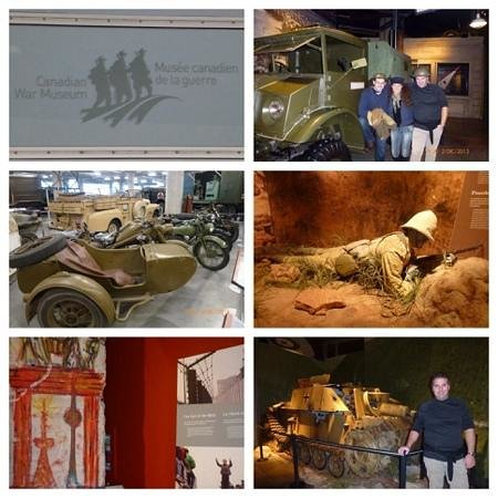 Canadian War Museum: museo de la guerra