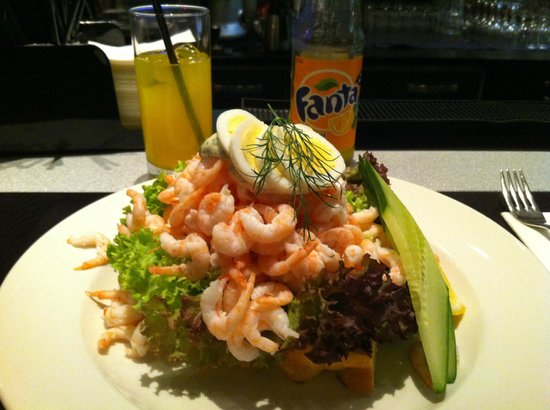 Radisson Blu Hotel, Malmo: Try the shrimp sandwich