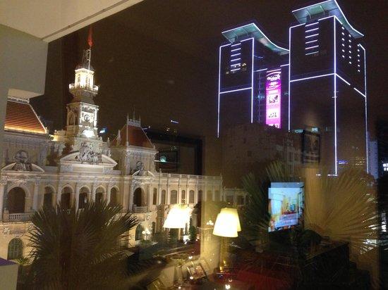 Rex Hotel : HO CHI MIN CITY- night view from REX