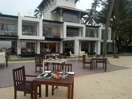 CoCo Bay Unawatuna: Hotel view from the beach