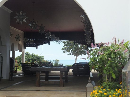 Hideaway of Nungwi Resort & Spa: Reception area