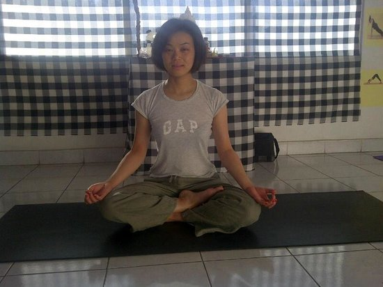 Yoga Siwa Durga Center: Guest from Japan