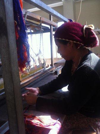 The Grand Shamba-La: Handloom workshop