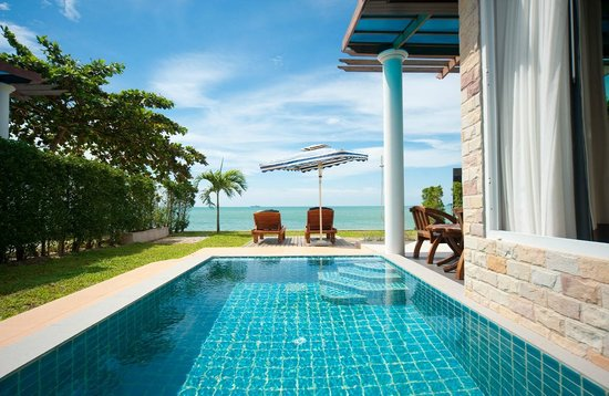 Sea Valley Hotel and Spa: Beach Front Pool Villa