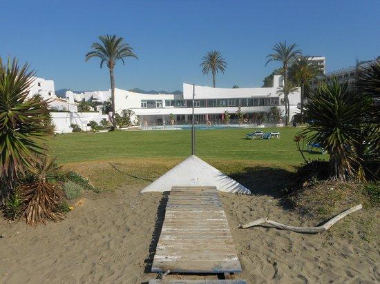 Villacana : from the beautiful beach.