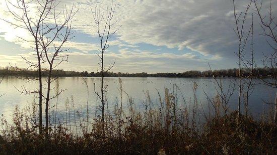 Pine Lake Resort: other end of the lake