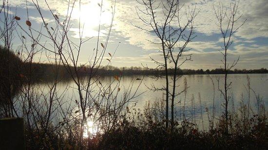 Pine Lake Resort: end of the lake