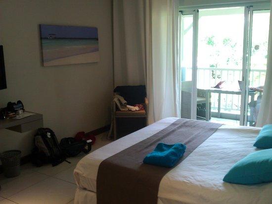 Mon Choisy Beach Resort : chambre