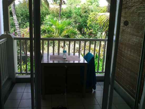 Mon Choisy Beach Resort : balcon