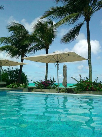 Mon Choisy Beach Resort : piscine