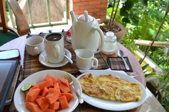 Rumah Jepun: breakfast