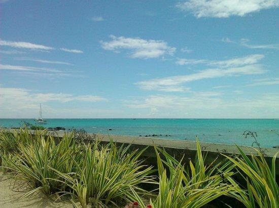 Mon Choisy Beach Resort : vue sur le lagon