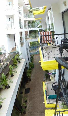 Nitya Resort: Балконы отеля