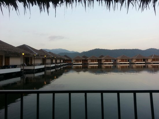 Lake Heaven Resort and Park : View from my room