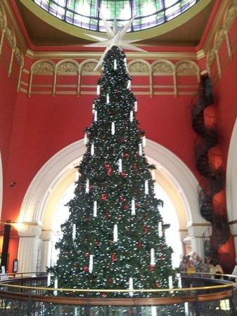 Queen Victoria Building (QVB): christmas tree qvb 2013