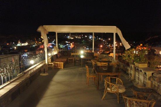 Vineyard Cave Hotel: 야외객실의 모습입니다. 전망이 훌륭합니다