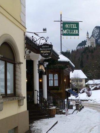 Hotel Muller Restaurant Acht-Eck : Hotel Mueller