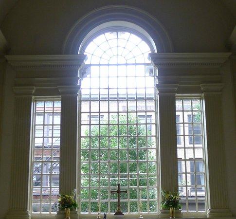 Christ Church : the altar windows