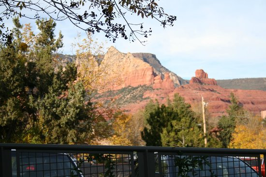 Hyatt Residence Club Sedona, Pinon Pointe: View from our Balcony