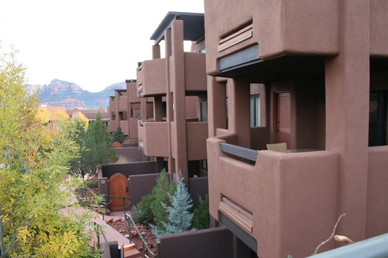 Hyatt Residence Club Sedona, Pinon Pointe: Our Balcony