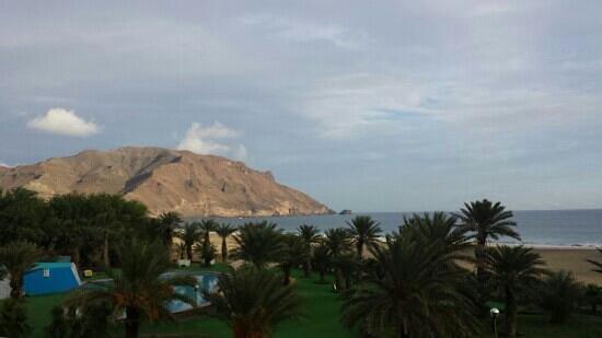 Foya Branca Resort Hotel: vue sur la plage de la chambre