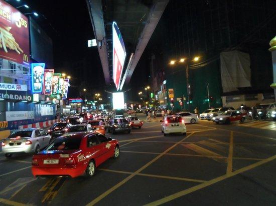 PARKROYAL Kuala Lumpur: the street right near the hotel