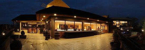 Le Moulin de la Galette: Vue du restaurant à partir de la terrasse