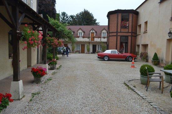 Hotel Belle Epoque : lobby area