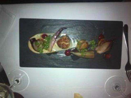 Frankie's Italian Bar & Grill : scallops