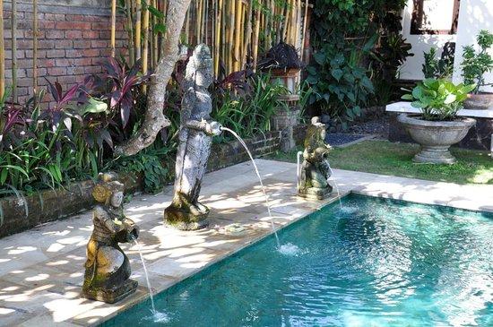 Puri Ayu Bali: By th pool