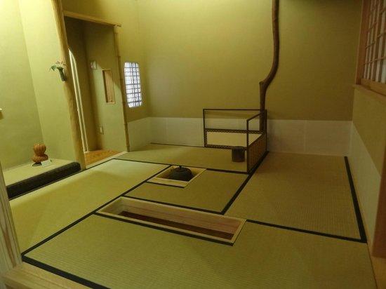 The Edo Sakura : Salle utilisée pour la cérémonie du thé