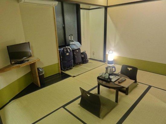 The Edo Sakura : Chambre de style japonais