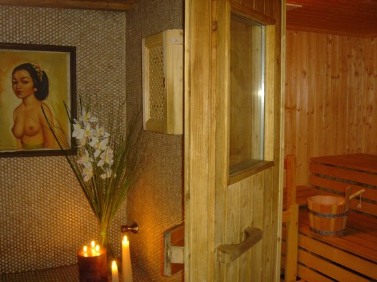 Alp Art Hotel: Sauna