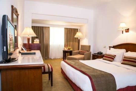 Baron Hotel Heliopolis Cairo : Room with King-Size Bed